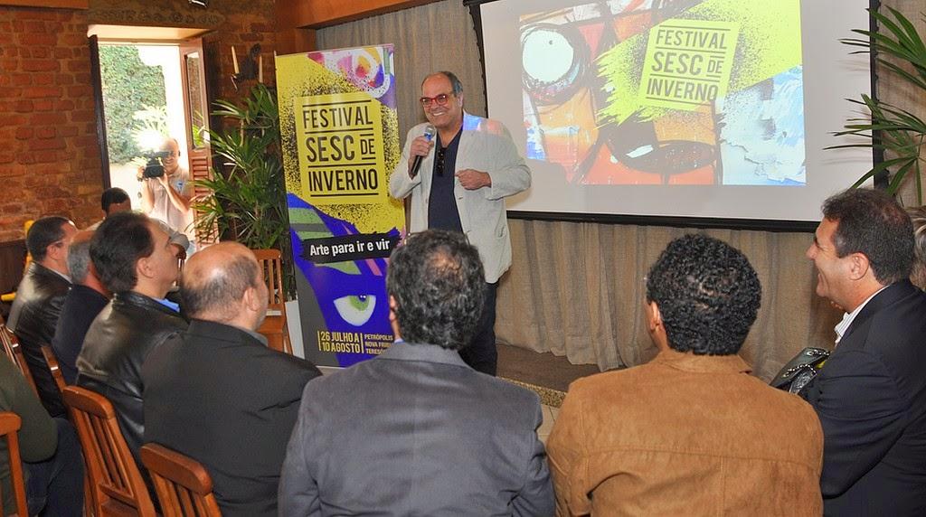 Secretário de Turismo, Ronaldo Fialho, menciona a importância da continuidade de ações culturais após o término do festival