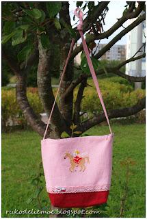 детская сумочка с принцессой