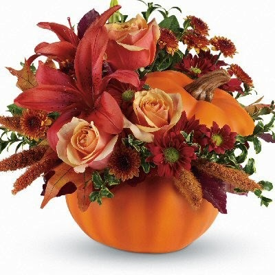 Pumpkins for and Autumn Wedding