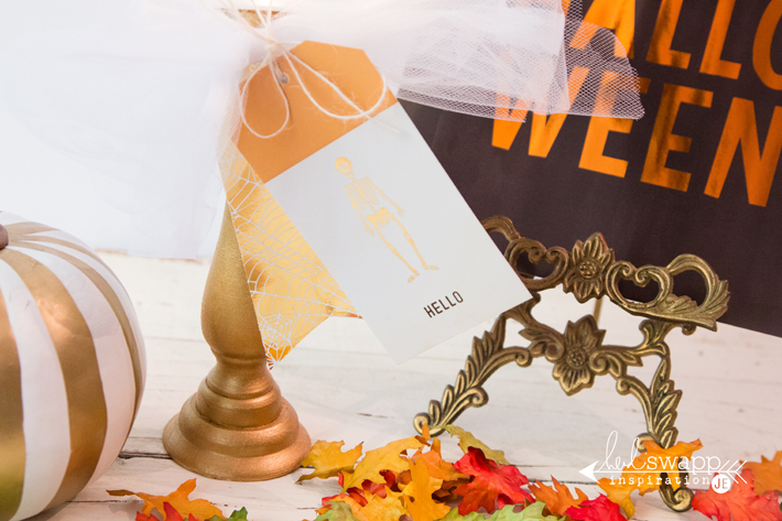 DIY Marquee Skull Halloween Kit by @createoften for @heidiswapp