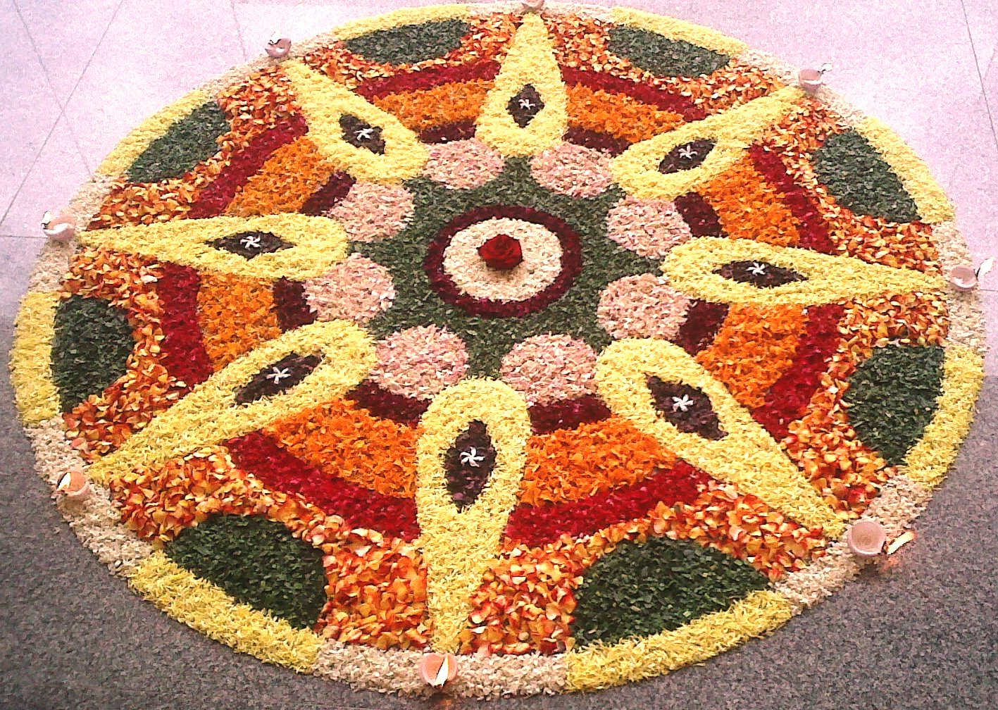 The Cultural Heritage Of India Rangoli A Sacred