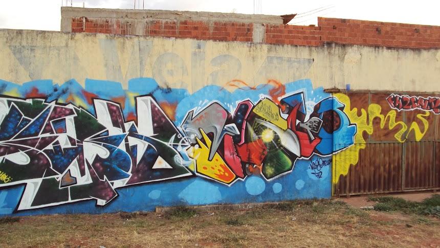 graffiti em santa maria df