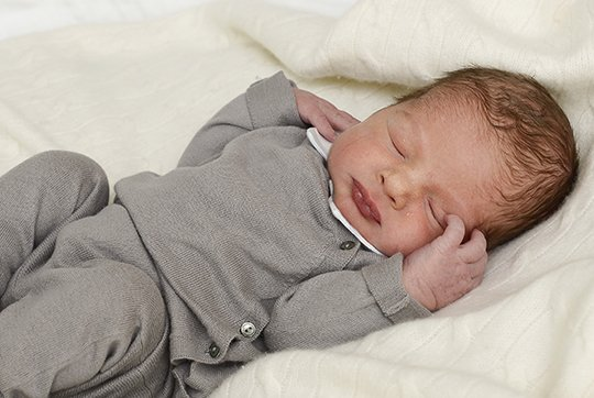 Princess Madeleine and Christopher O'Neill had a son at Danderyd hospital