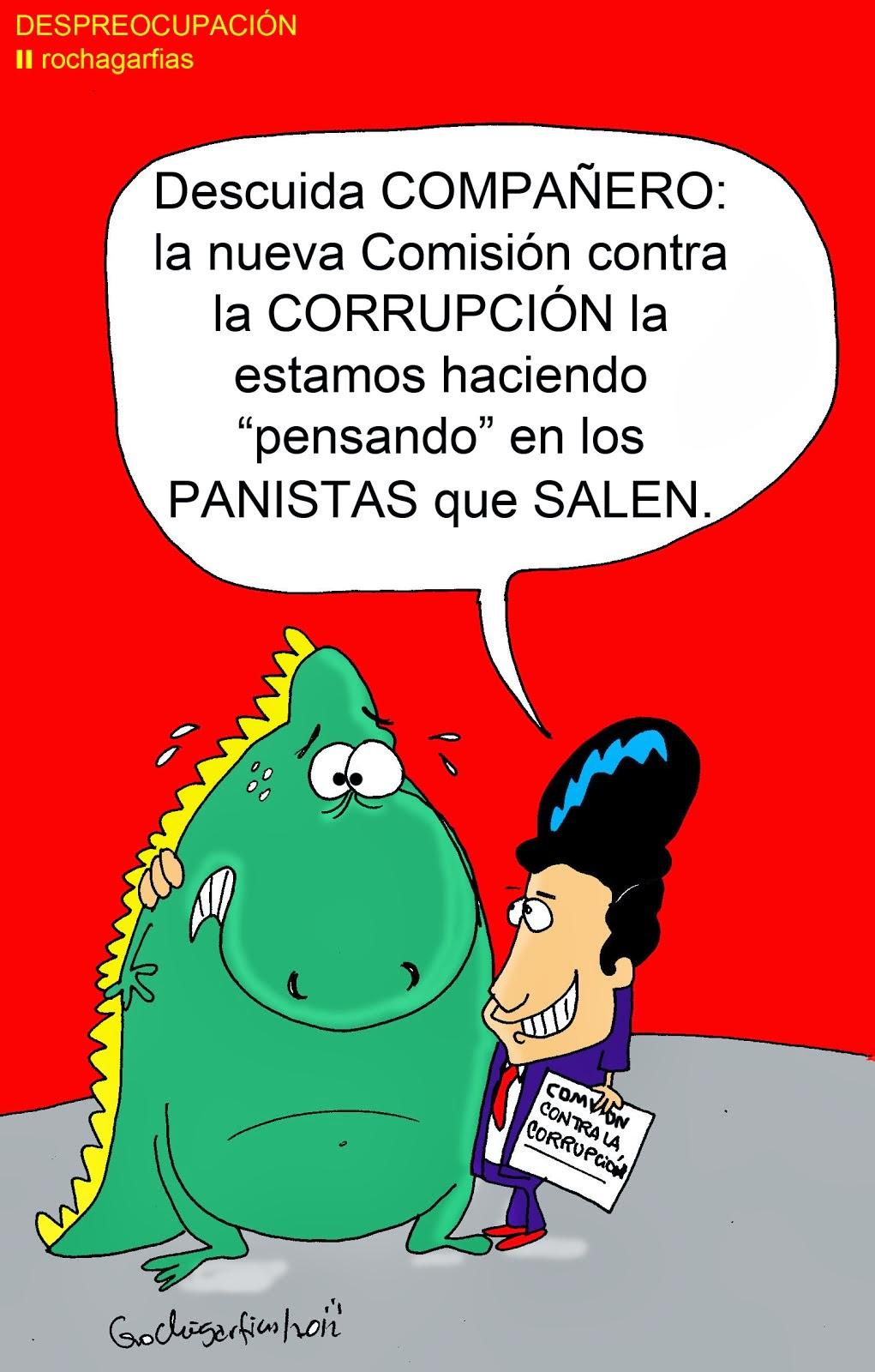 Despreocupación en la Comisión Anticorrupción