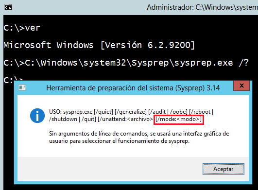 Windows Server 2012 SYSPREP SID