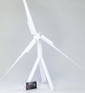 جهاز trinity لشحن الهواتف باستغلال الهواء