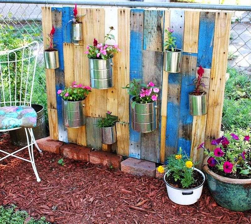 Como hacer un bonito jard n con palets - Como hacer un jardin bonito ...