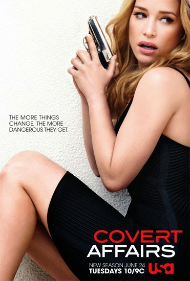 Assistir Covert Affairs 5x05 - Elevate Me Later Online