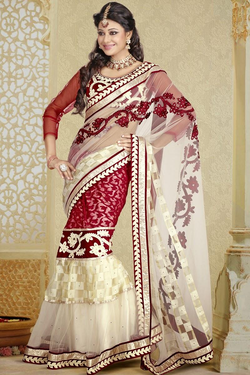 designer lahenga style sarees 2014 latest fashion today