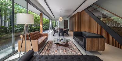 Rumah Minimalis Dengan Fasad Kisi-Kisi 3