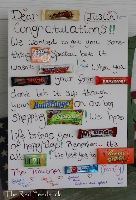 candy poster board sayings for retirement | just b.CAUSE