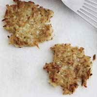 Weight Loss Recipes : Potato and Parsnip Latkes