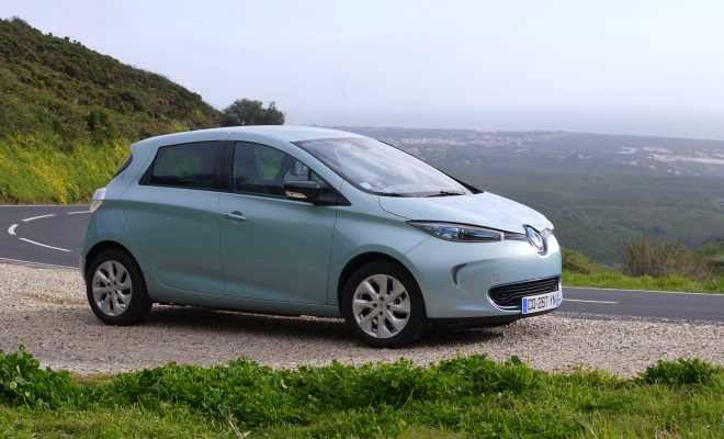 Renault Zoe EV in Portugal