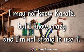 I know CRAZY!