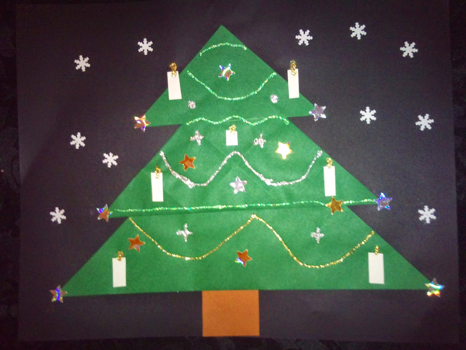 kerst knutsel kleuters
