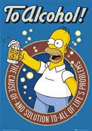 Homer Simpson non sta lì a badare a niente...