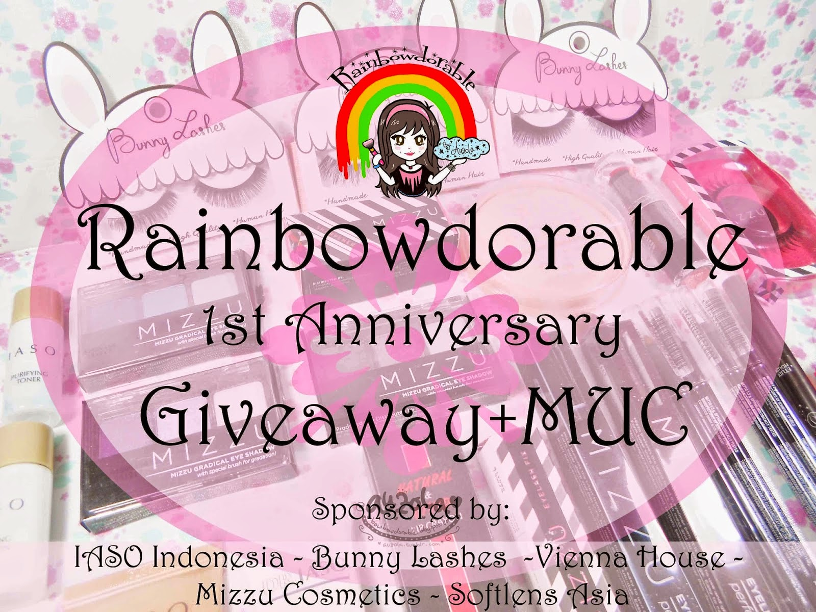 RainbowDorable 1st Anniv Giveaway