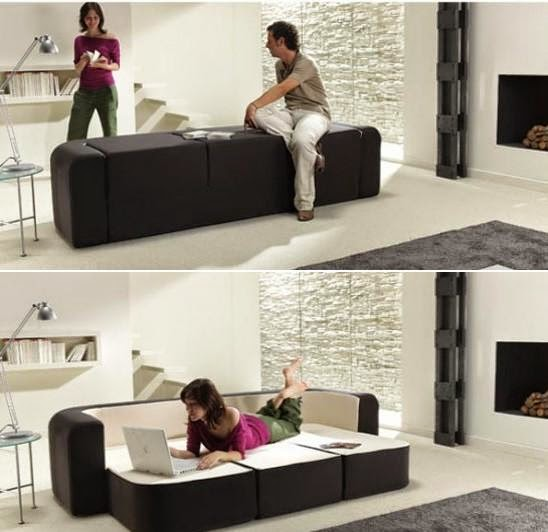 Innovative and Cool Convertible Sofa Designs (10) 3