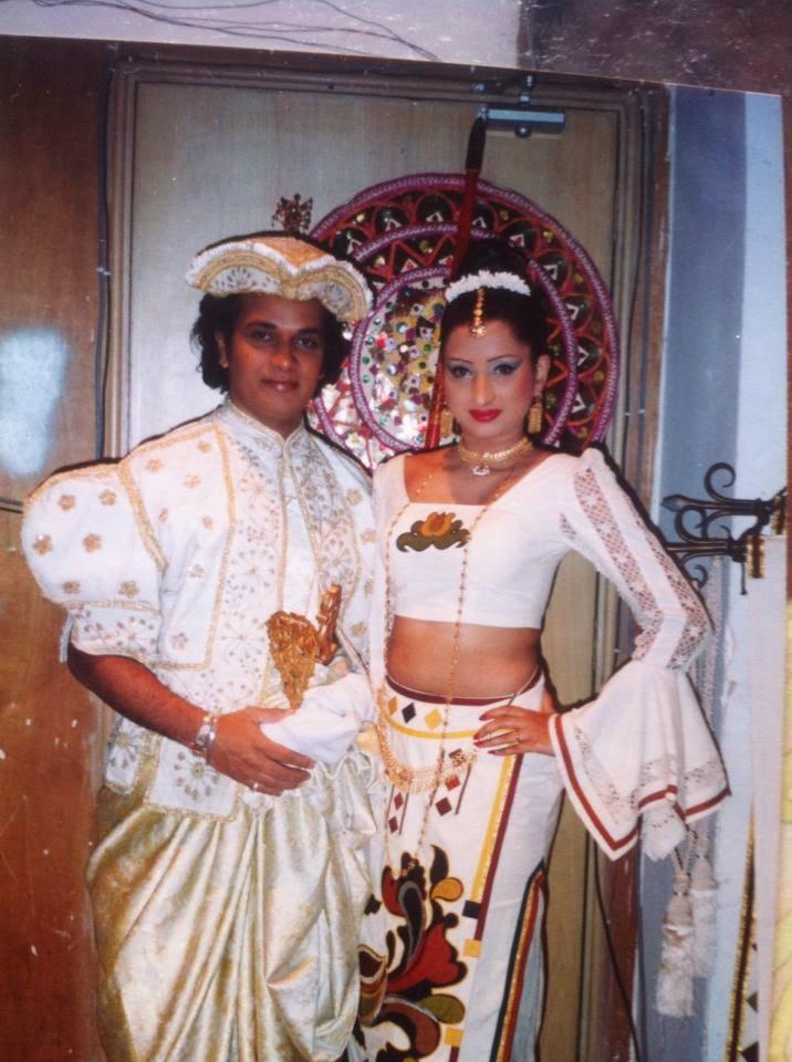 Vasana Danthanarayana traditional dress