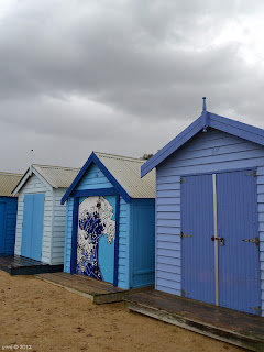 blue brighton beach booths