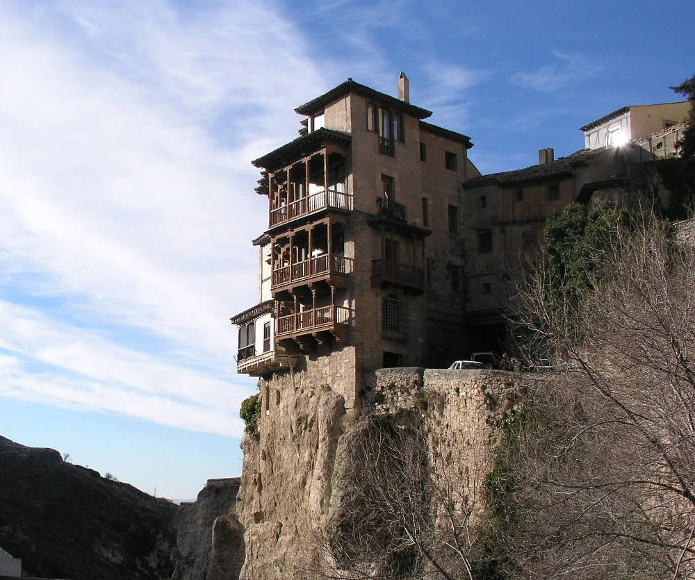 Exceptional Hanging Houses Of Cuenca Spain