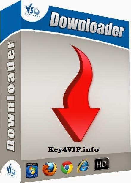 VSO Downloader Ultimate 4.1.1.25 Full Key,Phần mềm tải nhạc và video từ hàng ngàn trang web