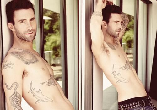 Sudah Hobi, Vokalis Maroon 5 Ingin Telanjang Setiap Saat