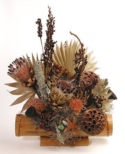 flor1 Como Fazer Arranjos Com Flores Secas