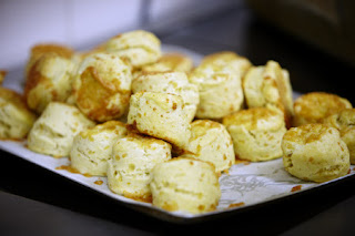 Cheese scones are available at Treasurer's House