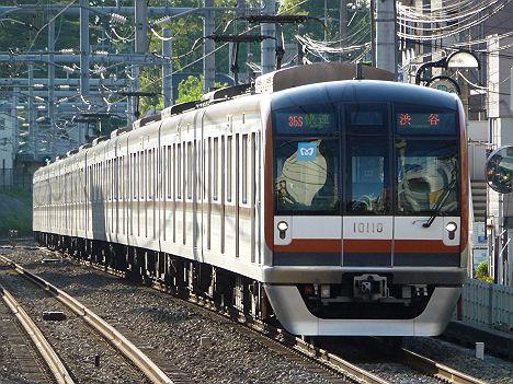 西武池袋線 副都心線直通 快速 渋谷行き2 10000系(廃止濃厚)