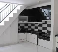 lemari bawah tangga minmalis