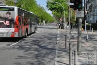 Hallerstraße - keine Radverkehrsanlagen
