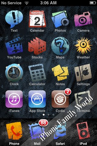 WinterBoard 0.9.3911 - iPhone Family World