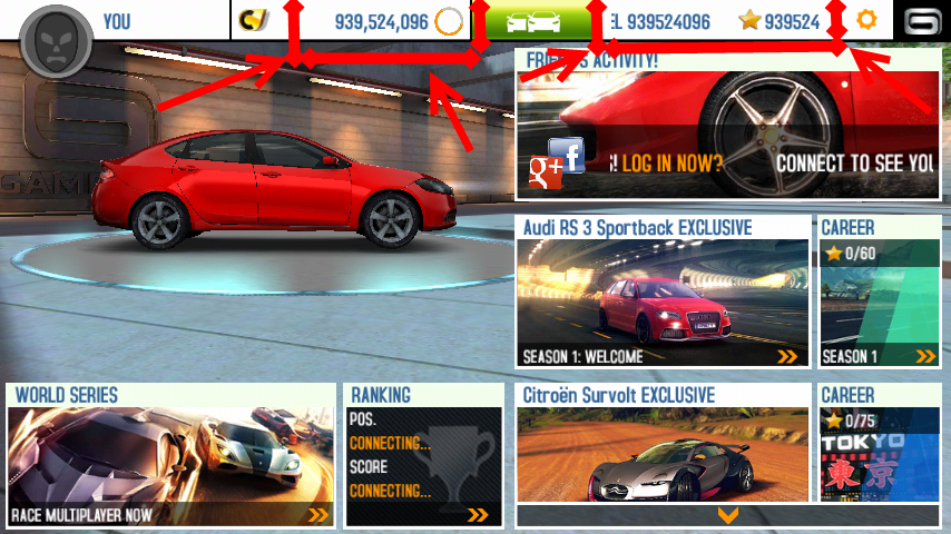 asphalt 8 airborne apk mod mega blogger of inspirations. Black Bedroom Furniture Sets. Home Design Ideas
