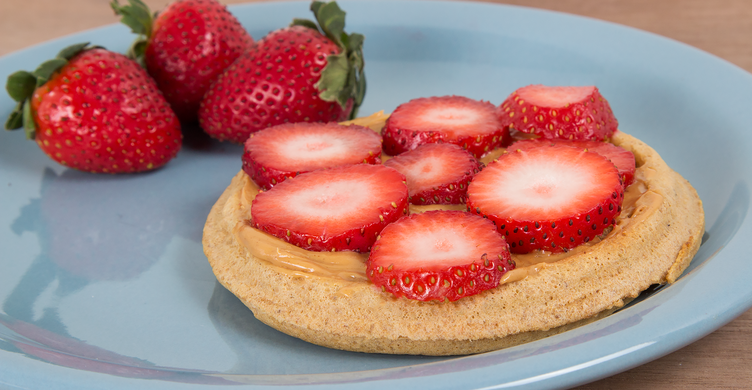 Peanut Butter Waffle 11 Quick and Healthy Breakfast Idea - Fit and Fabulous Friday