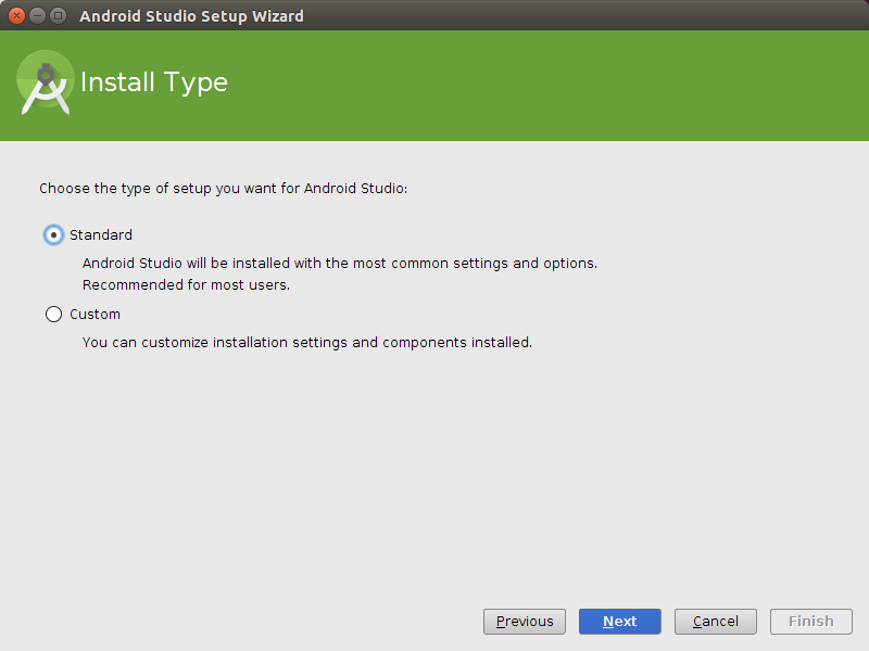 how to install android studio in d drive
