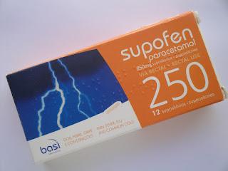 Supofen® supositórios 250 mg