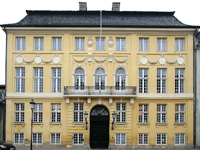 Photograph of the Yellow Palace, Copenhagen