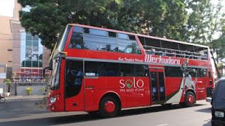 wisata solo: naik werkudara atau kereta wisata jaladara