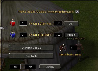 Metin2 Oyun Hile Botu 1.2 Mega Versiyon 19.12.12 indir