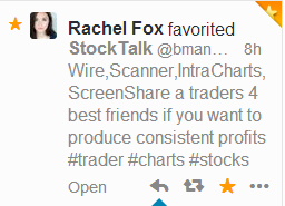 @FoxonStocks favors *******StockTalk******