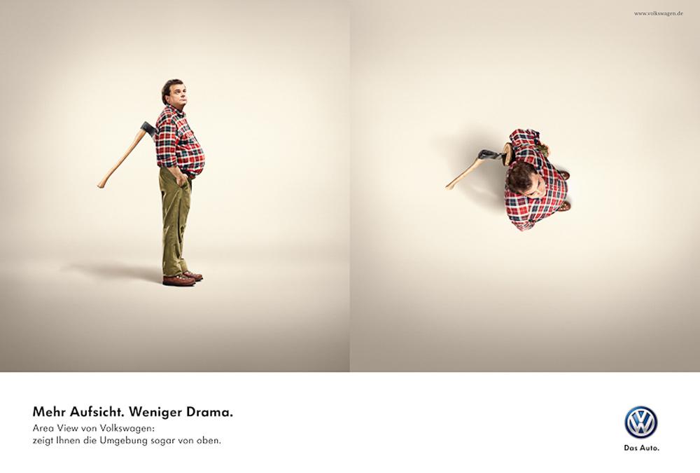 Area View Volkswagen Creative Campaign