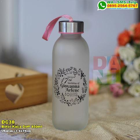 Botol Kaca Doff Ml