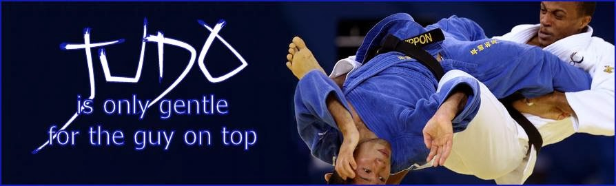 Judo is only gentle for the guy on top