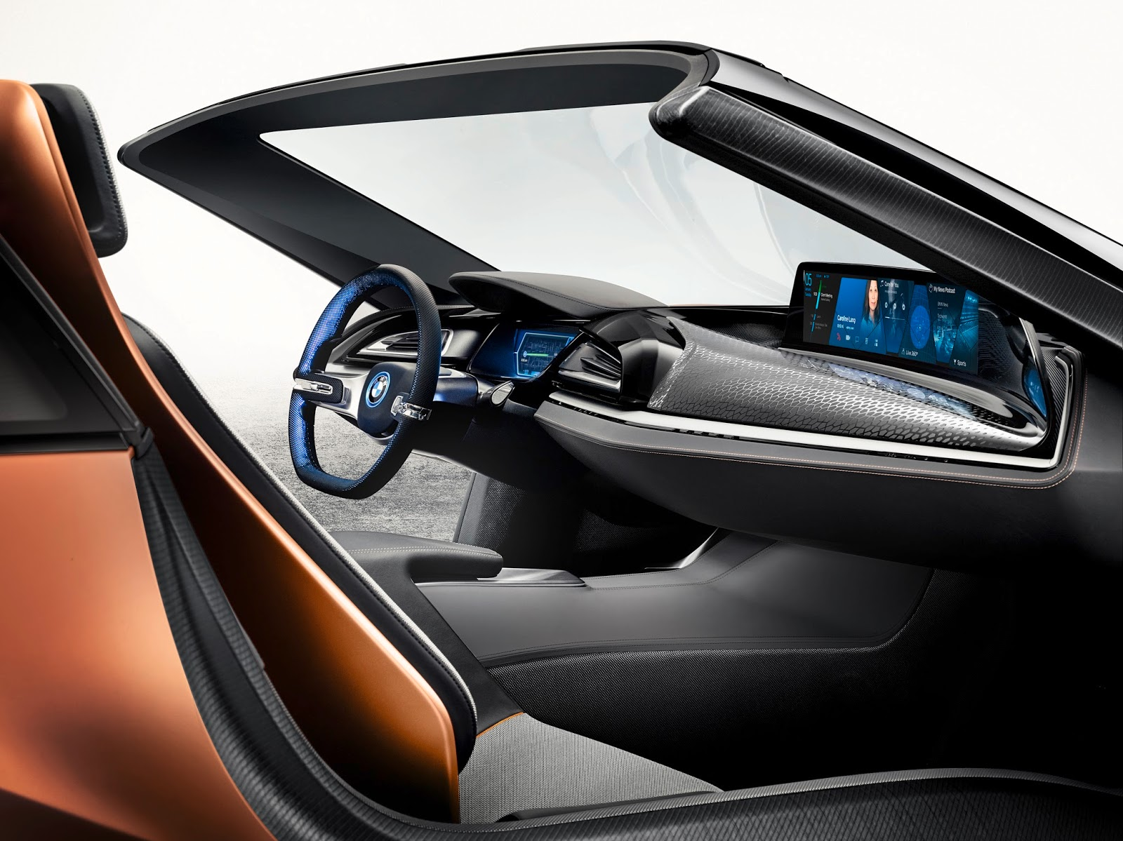 voiture du futur bmw au ces de las vegas mon beau miroir. Black Bedroom Furniture Sets. Home Design Ideas