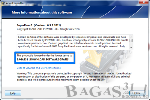 PGWARE SuperRam 6.5.2 with Patch + Keygen 3