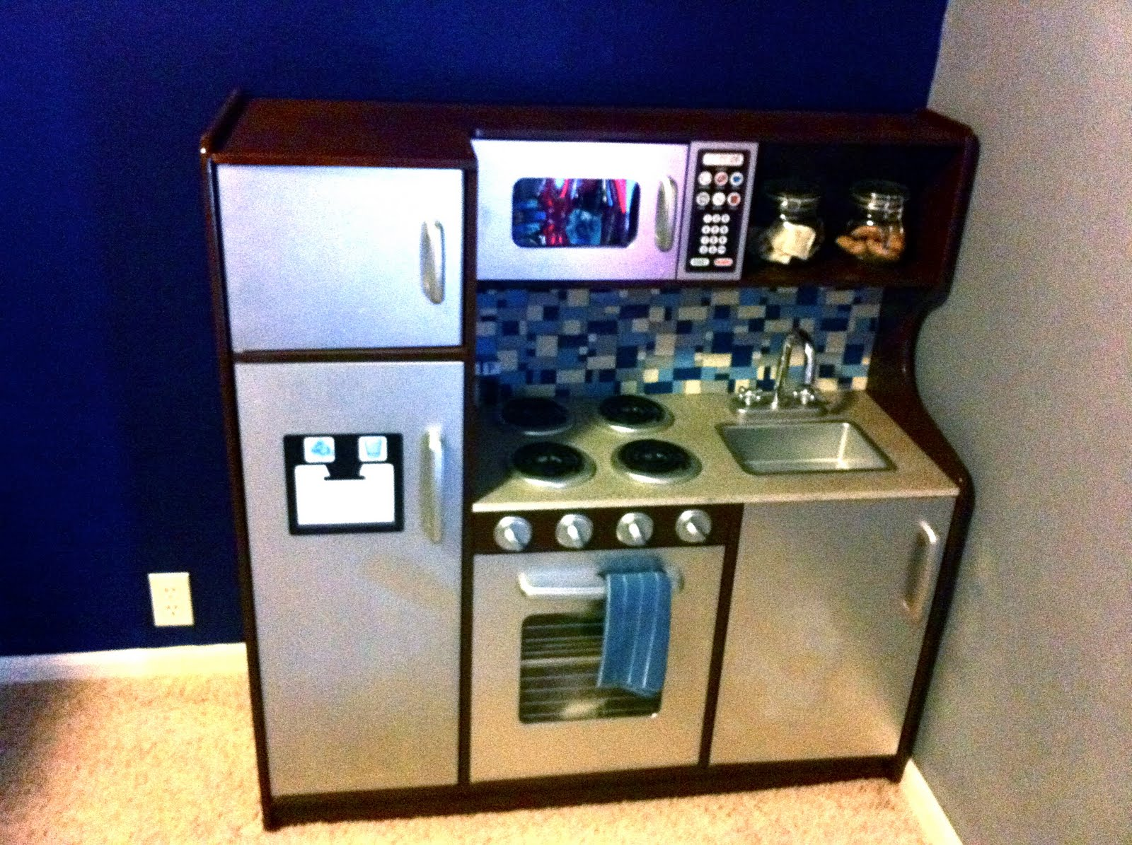 Homemade Play Kitchen December 2011 Creative Green Living