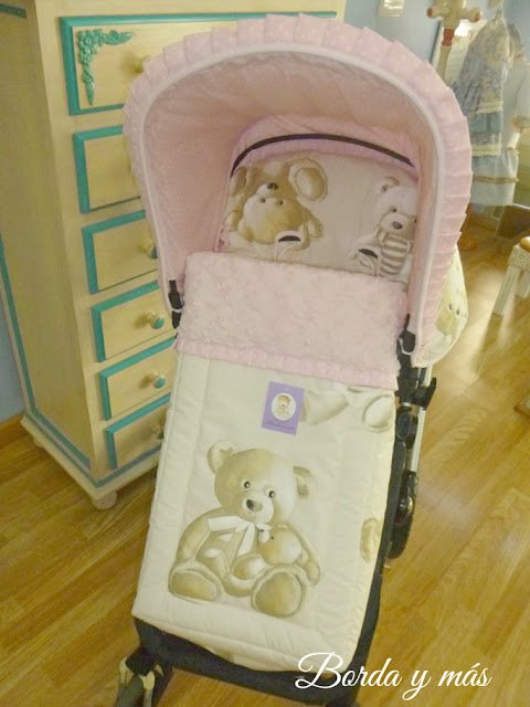 vestidura silla Baby Monster Fresh