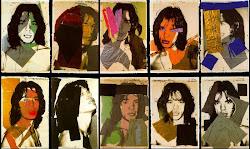 Mick Jagger (1975), 10 serigrafías por ANDY WARHOL