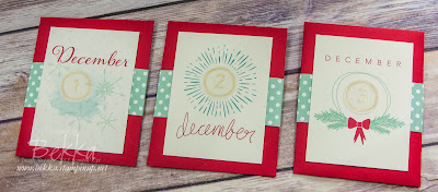 Hello December Project Life by Stampin' Up! UK Advent Calendar - get the details here